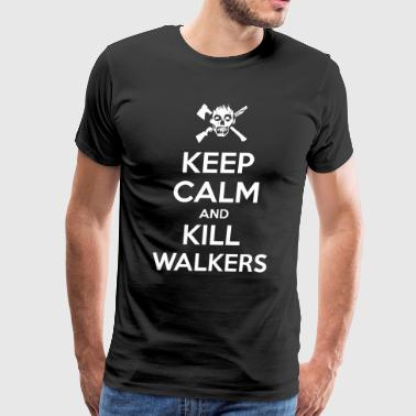 Keep Calm Walkers - Men's Premium T-Shirt