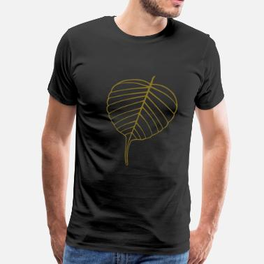 Bodhi Bodhi Leaf - Men's Premium T-Shirt