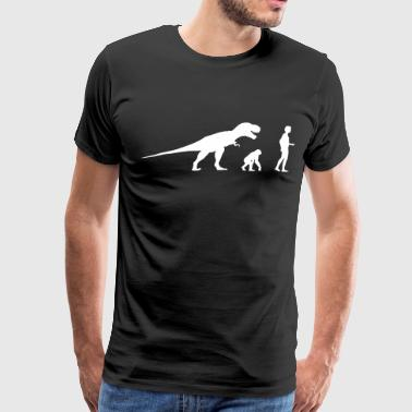 Evolution dinosaur Rex  - Men's Premium T-Shirt