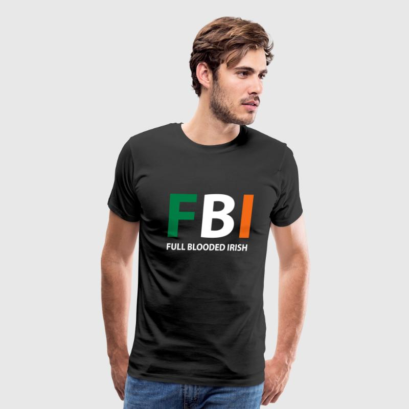 fbi full blooded irish - Men's Premium T-Shirt