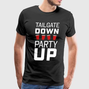 Tailgate Down Party Up - Men's Premium T-Shirt