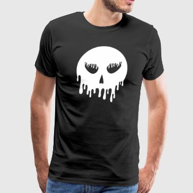 Skull dripping - Men's Premium T-Shirt