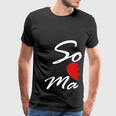 soul mate - right - Men's Premium T-Shirt
