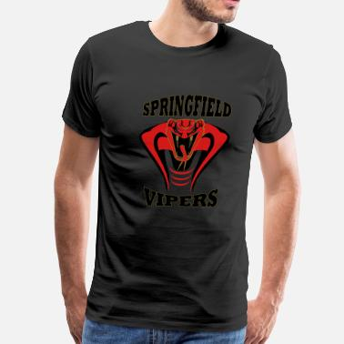 Springfield Armory Springfield Vipers-White - Men's Premium T-Shirt