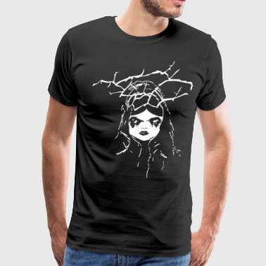 creepy dollface - Men's Premium T-Shirt