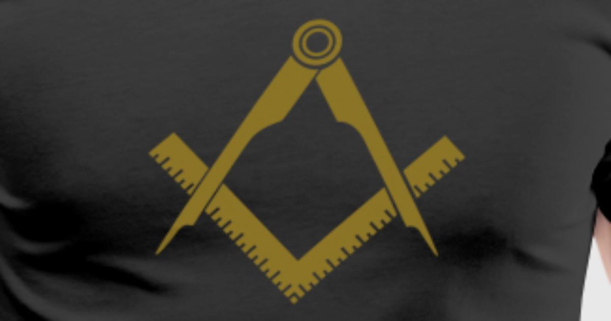 Masonic Symbol Squaring The Circle Freemason By Yuma Spreadshirt