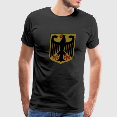 Imperial Eagle of Germany / Deutscher Reichsadler - Men's Premium T-Shirt