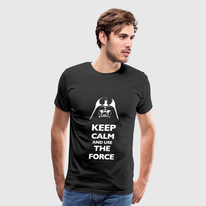 KCCO Keep Calm And Use The Force - Men's Premium T-Shirt