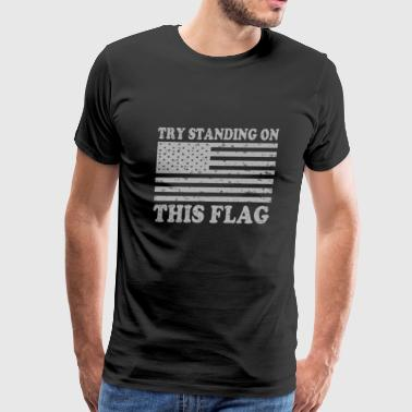 Get off my flag - Men's Premium T-Shirt