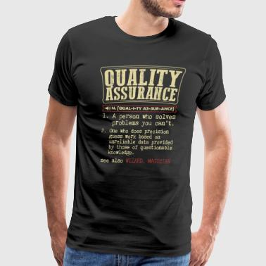 Quality Assurance Badass Dictionary Term T-Shirt - Men's Premium T-Shirt