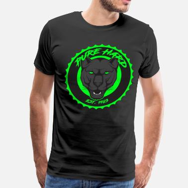 Lime phd logo black and green - Men's Premium T-Shirt