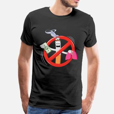 Anti Tobacco Anti-Smoking Tee - Men's Premium T-Shirt