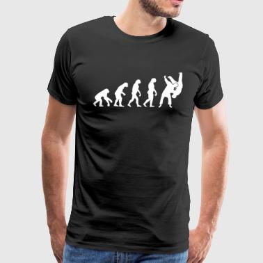Judo Sambo Evolution T-Shirt - Men's Premium T-Shirt