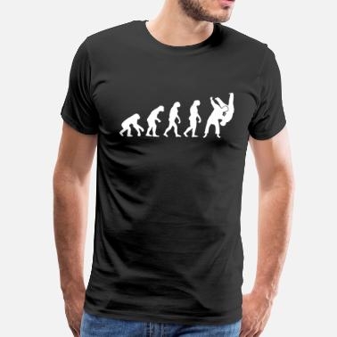 Sambo Judo Sambo Evolution T-Shirt - Men's Premium T-Shirt