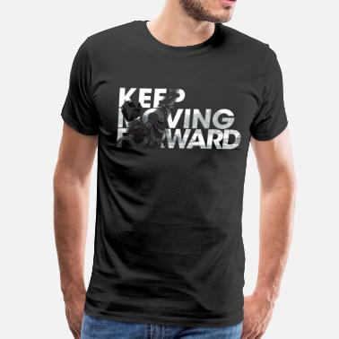 Moving Keep Moving Forward - Men's Premium T-Shirt