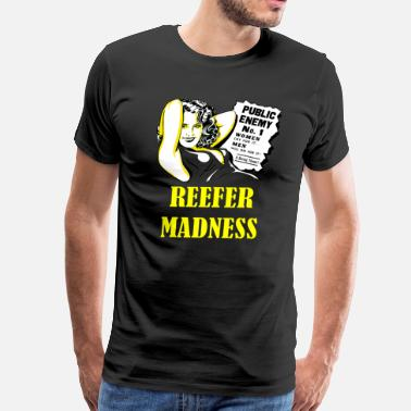 Madness Reefer madnessYellow - Men's Premium T-Shirt