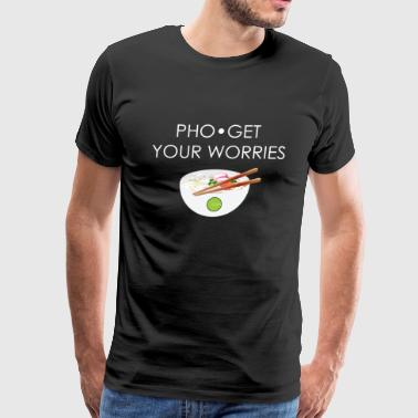 PHO-get your worries - Men's Premium T-Shirt