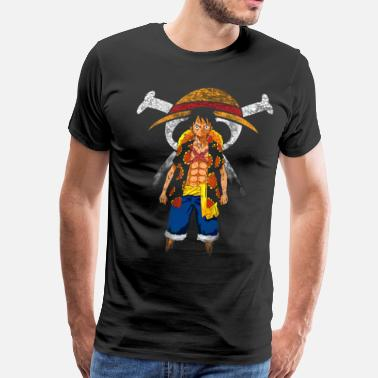 Piece Straw Hat Captain - Men's Premium T-Shirt