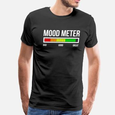 Happy Mood MOOD METER GREAT MOOD - Men's Premium T-Shirt