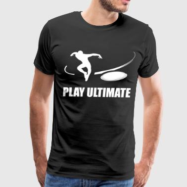 Ultimate Frisbee Design: Ultimate - Men's Premium T-Shirt
