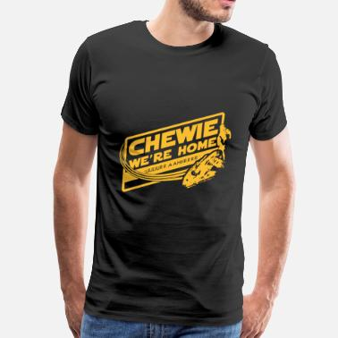 Han Solo Chewie - Awesome t-shirt for Han solo fans - Men's Premium T-Shirt