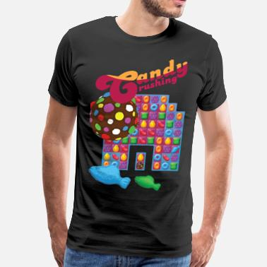 Candy Candy Crushing #spreadgaming - Men's Premium T-Shirt