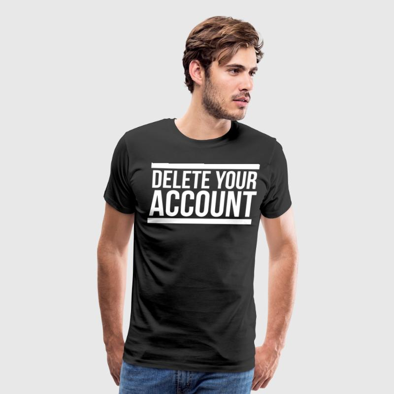 how to delete my spreadshirt account