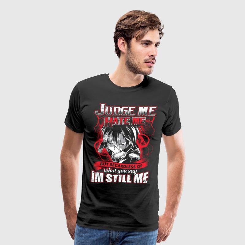 Sword art online - SAO - Judge me hate me - Men's Premium T-Shirt