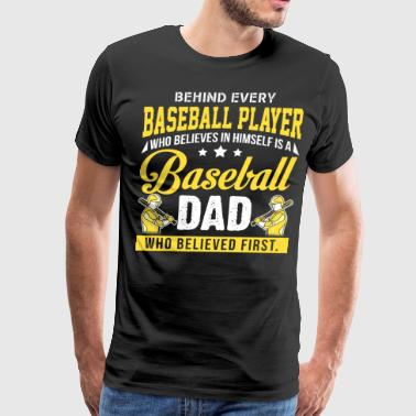Baseball Dad T Shirt - Men's Premium T-Shirt
