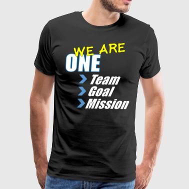 Team building: We are one - Men's Premium T-Shirt