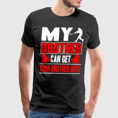 Baseball Brother Shirts - Men's Premium T-Shirt