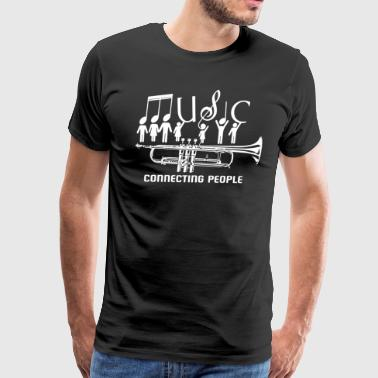 Trumpet Music Shirt - Men's Premium T-Shirt
