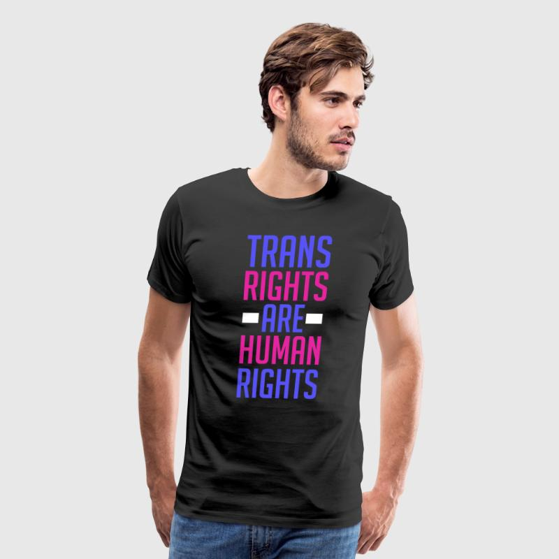Trans Rights Are Human Rights - Men's Premium T-Shirt