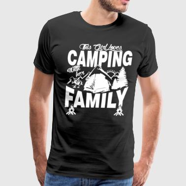 Loves Camping Family Shirt - Men's Premium T-Shirt