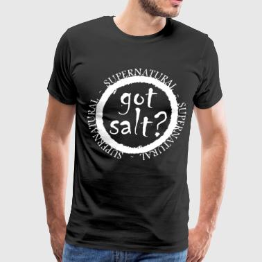 supernatural got salt - Men's Premium T-Shirt