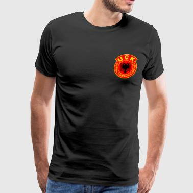 Albanian UQK Army to give as a gift to a proud albanian - Men's Premium T-Shirt