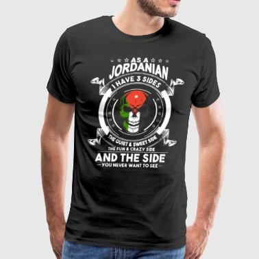 As a jordanian i have 3 sides the quiet and sweet - Men's Premium T-Shirt