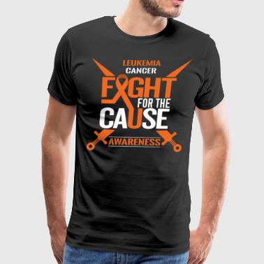 Leukemia Cancer Awareness - Men's Premium T-Shirt