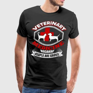 Veterinary Medicine T Shirt - Men's Premium T-Shirt