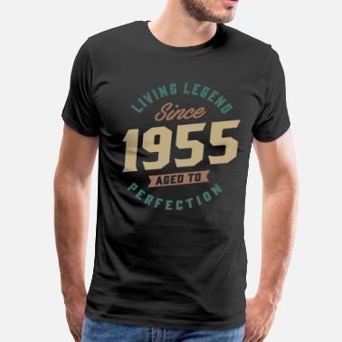 Since 1955 Living Legend Since 1955 - Men's Premium T-Shirt
