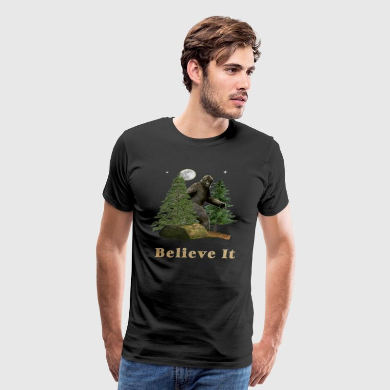 Bigfoot design - Men's Premium T-Shirt
