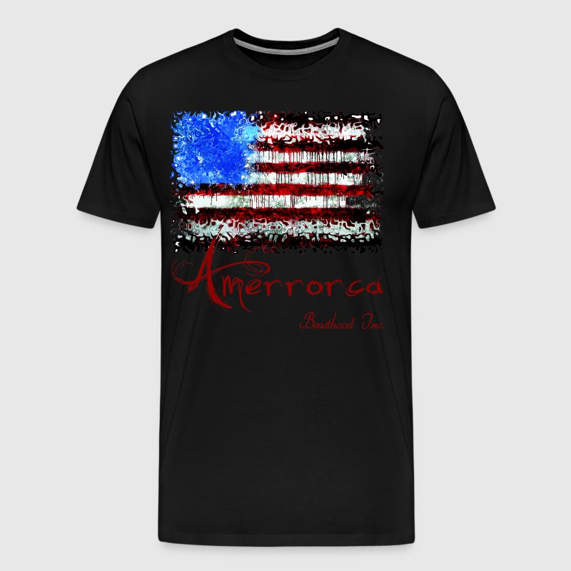 Amerrorca: Land of the Free, Home of the Slave - Men's Premium T-Shirt