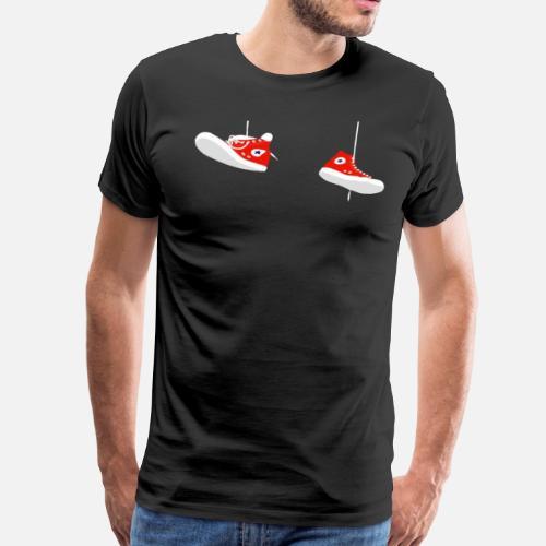 5f9b9c3e296529 Converse - Men s Premium T-Shirt. Back. Back. Design. Front