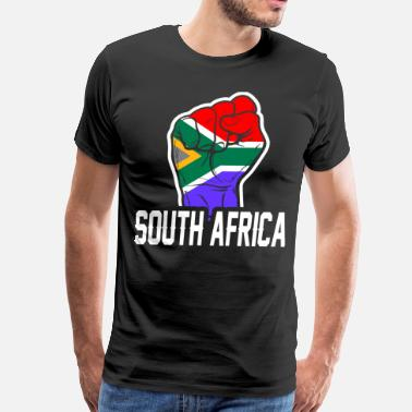 Flag Of South Africa South Africa Flag Tshirt - Men's Premium T-Shirt