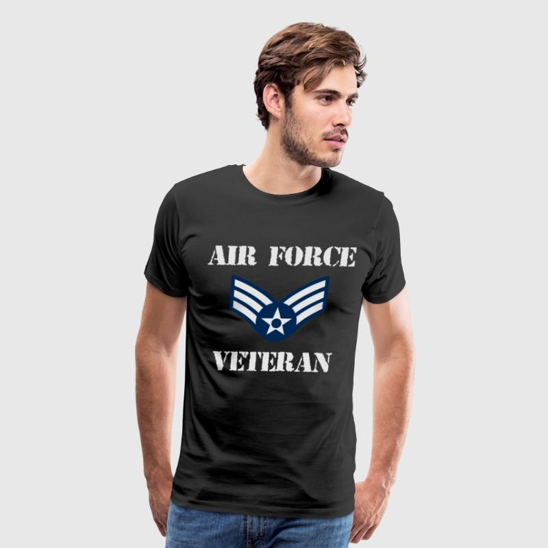 USA Pride Air Force Veteran Shirt - Men's Premium T-Shirt