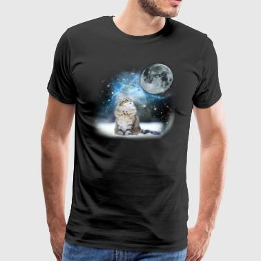 Cat In Space Cat In Space LOL - Men's Premium T-Shirt