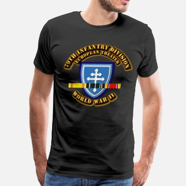 Wwii 79th Infantry Division - Europe - WWII  - Men's Premium T-Shirt