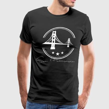 San Francisco, CA White - Men's Premium T-Shirt