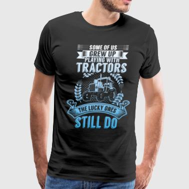 Farmer's Tractors - Men's Premium T-Shirt