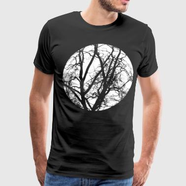 tree branches save the trees mystic - Men's Premium T-Shirt